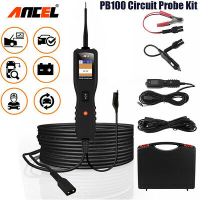 12V 24V Auto Power Probe Circuit Tester Battery Electrical System Powerscan Tool