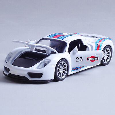 1:32 Minichamps Porsche 918 Spyder Limited Edition Martini Model Car for boys