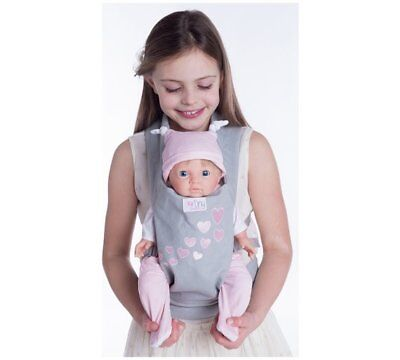 NEW Chad Valley Tiny Treasures Baby Doll Carrier Designaed For Child To Wear_UK