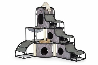 Prevue Pet Products Catville Towe- Gray-New in open Box