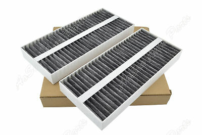 Set of 2 Cabin Air Filter for 2005-2015 Nissan Armada 2004-2018 Titan 2004-2013