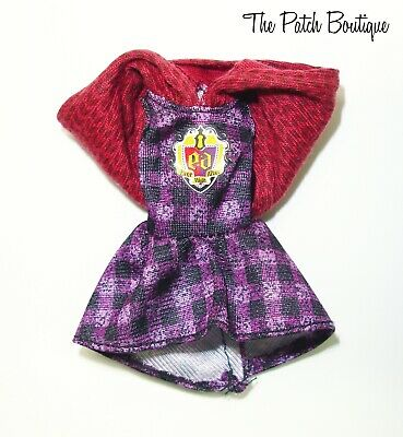 EVER AFTER HIGH TRICASTLEON TRI-CASTLE-ON CERISE HOOD REPLACEMENT BROWN BELT