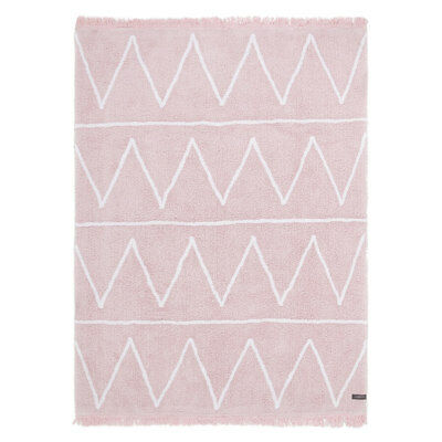 Lorena Canals Lorena Canals C-HY-P Hippy Soft Pink Rug C-HY-P 4-ft x 5-ft 3-in