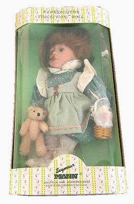 THE CONNOISSEUR COLLECTION DOLL FROM SEYMOUR MAN Erin Limited Addition NIB