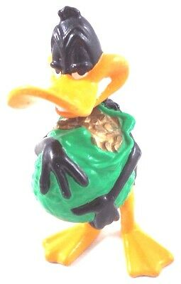 Daffy Duck PVC Bag of Gold Figure Topper wb Warner Brothers Looney Tunes Bros