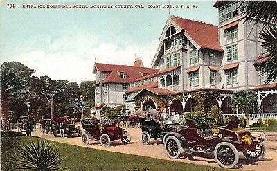 Lot of 3 Early 1900's Vintage California's So. Pac. R. R. Lines Postcards #30364