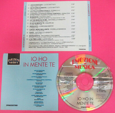 CD EMOZIONI IN MUSICA Io ho in mente te!BATTISTI LEALI VENDITI DALLA mc*lp (C45)