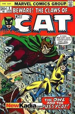 Cat (1972 series) #2 in Very Fine - condition. FREE bag/board