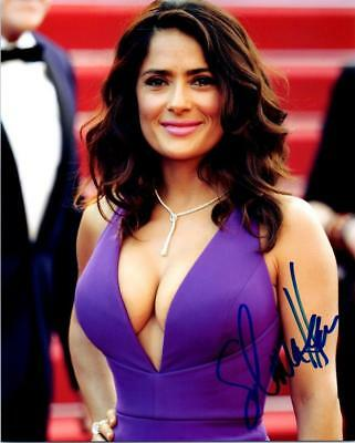 Salma Hayek signed 8x10 picture Photo autographed pic with COA
