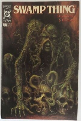 1989 Swamp Thing #88   -    Vf                      (Inv15889)