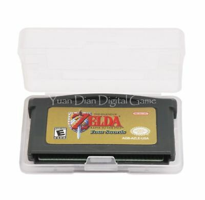 The Legend of Zelda A Link to the Past and Four Swords GBA - Game Boy Advance