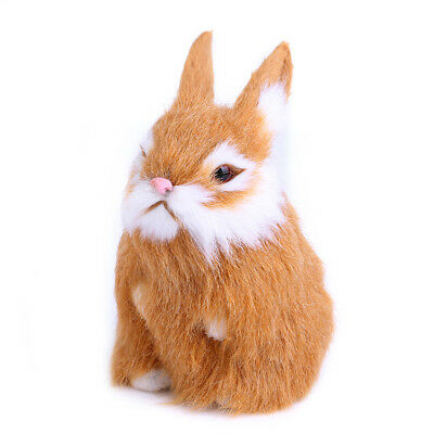 Lovely Mini Simulation Rabbit Doll Plush Toy Christmas gift for children