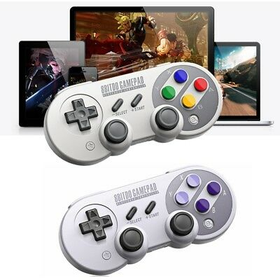 8Bitdo SF30 SN30 Pro Gamepad Controller for NES Switch Windows Mac Steam Android