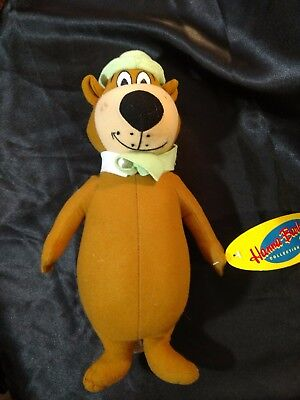 "Hanna Barbera Yogi Bear Plush 14"" Toy Factory Stuffed Animal"