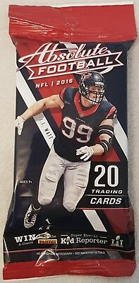 2016 Panini Absolute NFL Pack