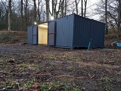 Very Secure 30X16ft Container Workshop.. Strengthened. Anti  Condensation Paint
