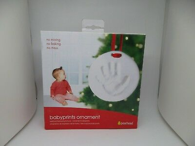 Babyprints Hand Print Ornament By Pearhead