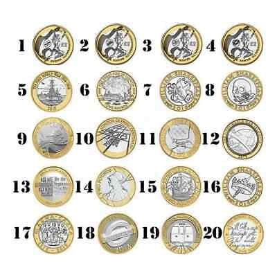 £2 Pound Coins;Shakespeare,Mary Rose,WorldWar,Commonwealth,Olympic,Northern, £2