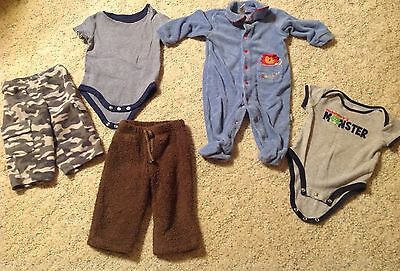 Baby Boys 18 piece Clothing Lot. Size 3 Months to 5T