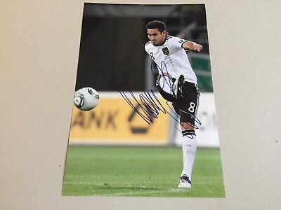 ILKAY GÜNDOGAN DFB SEIT 2012 signed Foto 20x30 In-Person Deutscher Meister: 2012