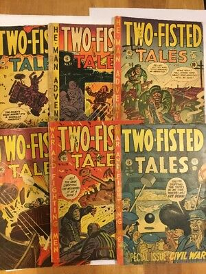 Two-Fisted Tales, issues 21, 22, 25, 27, 28, 31, CANADIAN ISSUE