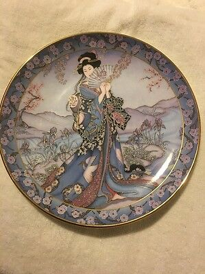 Franklin Mint Royal Doulton Princess of the Iris by Marty Noble Plate