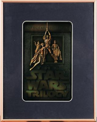 Star Wars Trilogy Special Edition ingot. 1997 Vintage with orig box 44-204 COA
