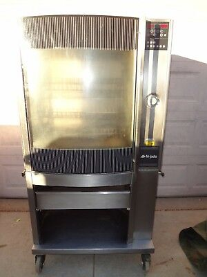 Frijado Stg 7-P Electric Rotisserie Oven And Stand.  3 Phase.  Chicken And Ribs!