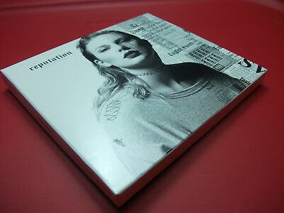 Taylor Swift Reputation CD Opened-Not Played - NO Tix Boost or Poster Included
