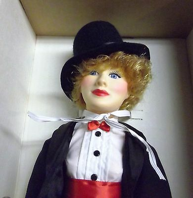 """Vintage Effanbee Lucille Ball 15"""" Doll, """"lucy"""",  Legend Series, 1985    Lu"""