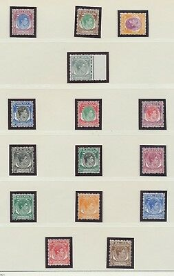 SINGAPORE - Sc 1-20, SG 1-15, perf 14, unused hinged - First Issue