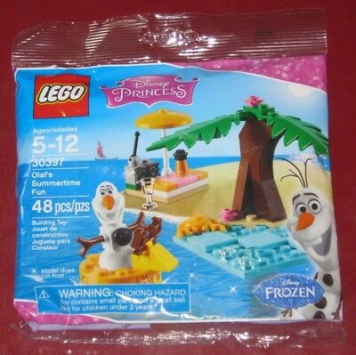 LEGO Disney Princess 30397 Frozen Olaf's Summertime Fun Sealed Polybag 48 pieces