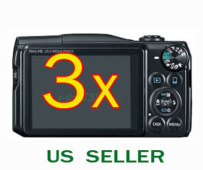 3x Clear LCD Screen Protector Guard Shield Film For Canon PowerShot SX60 HS