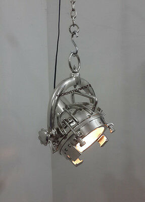 AUTHENTIC  EXTERIOR Industrial Wave Nautical Pendant Lamp Hanging Ceiling Light