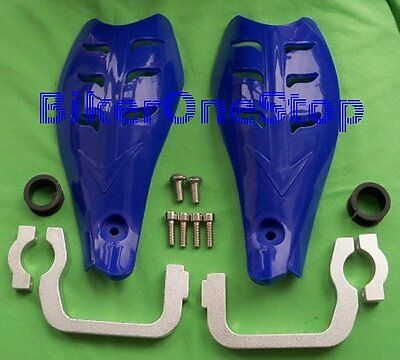 BRG09BU - HANDGUARDS Hand Guards / Hand Protectors BLUE For 22mm & 28mm Bars