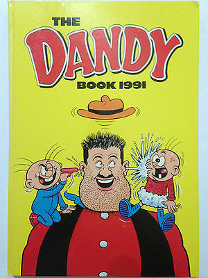 THE DANDY BOOK 1990 Annual  **Free UK Postage** Good condition.