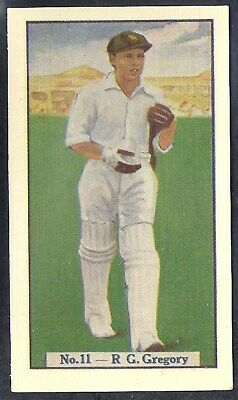 Allen (Australia)-Cricket (Coloured) 1938-#11- Victoria - Gregory