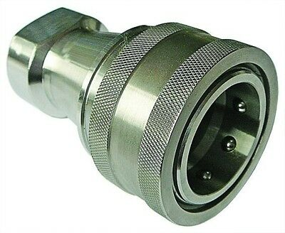 """SSHISO-B16 Hydraulic ISO B Stainless Steel Couplings 316/304 1"""""""