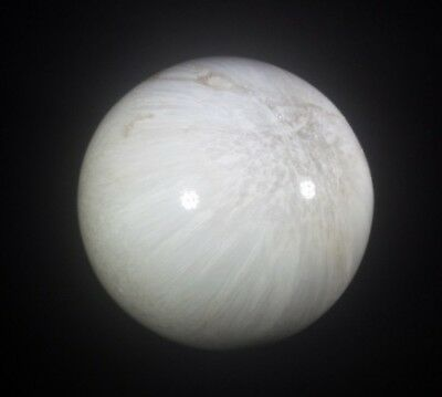 Large!!! Scolecite Sphere Natural Stone Hand Carved Gemstone Sphere [1]