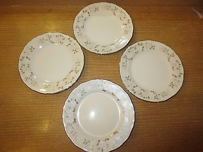 Sheffield  Classic 501 Fine China Set Of 4 Bread And Butter Plates Japan 6 1/4""