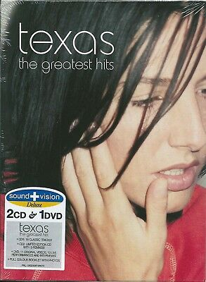 Texas. The Greatest Hits (2004) Cofanetto Digipack 2CD+DVD Sound & Vision Deluxe