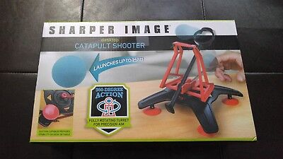 Details about  /Sharper Image Desktop Catapult Shooter 360 Degree Action Launches up to 25ft NIB