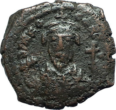 PHOCAS 602AD Half Follis of Nicomedia Authentic Ancient Byzantine Coin i66091