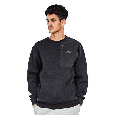 New Balance - 247 Luxe Crew Sweater Black Pullover Rundhals