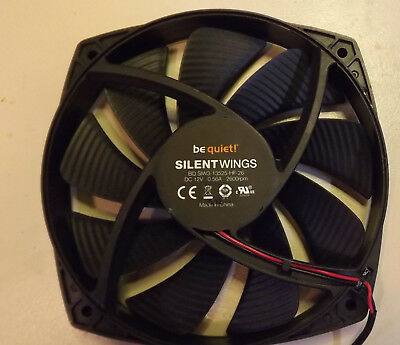 ✅ be quiet! Shadow Wings SW1 MS 140 mm 12V 0,56A Gehäuselüfter BQ SIW3 2600RPM ✅