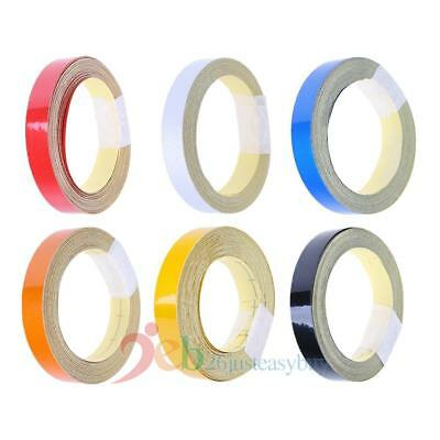 1cm x 5m Car Truck Reflective Roll Tape Film Safety Warning Ornament Sticker