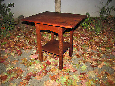 Antique Stickley Brothers Rare Table  w5072