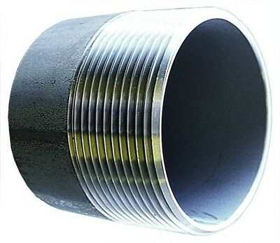 """SSWN16 1"""" BSPT Weld Nipple Stainless Steel Fitting"""