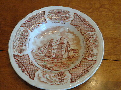 """Alfred Meakin Staffordshire England Vegetable Bowl """"Fair Winds"""""""
