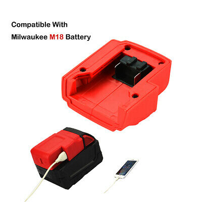 Converter Power Source Adapter for Milwaukee M18 Battery Electronic Tool BC709